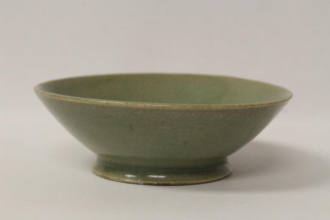 Chinese possible Song celadon bowl - 2