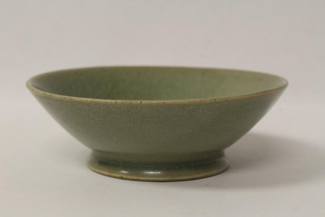 Chinese possible Song celadon bowl - 3