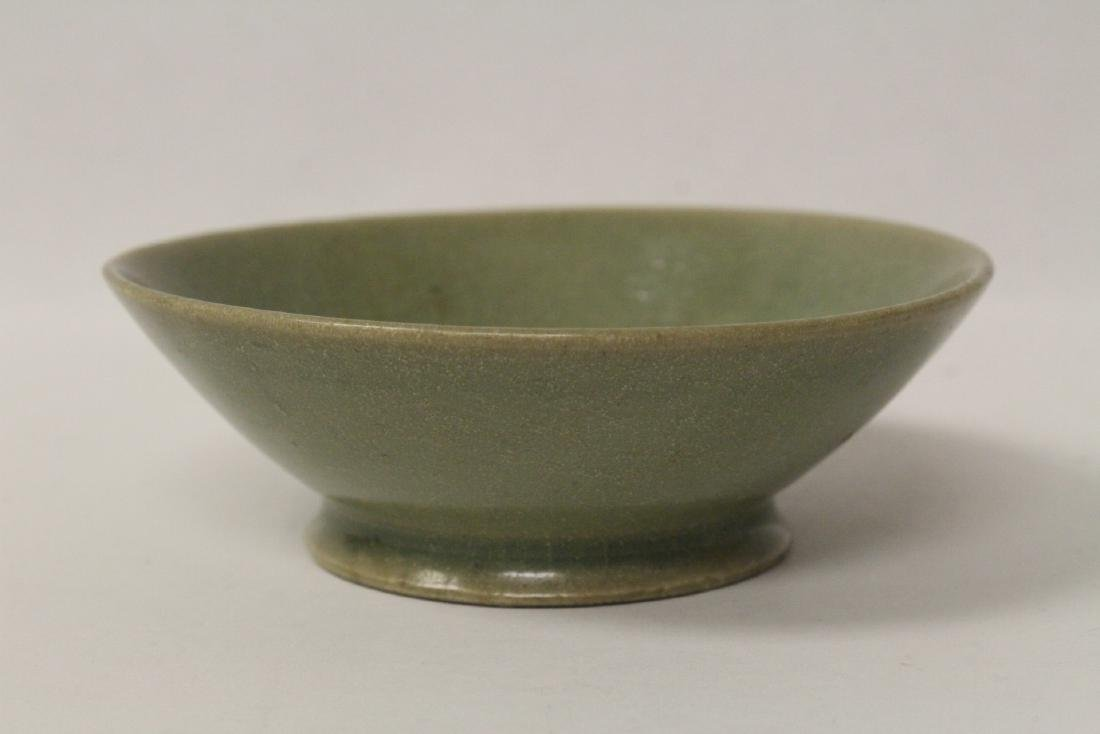 Chinese possible Song celadon bowl - 4