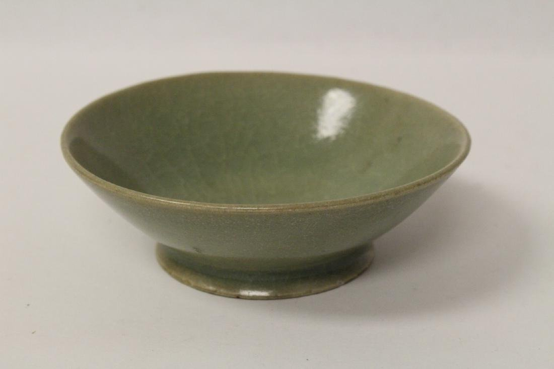 Chinese possible Song celadon bowl - 5
