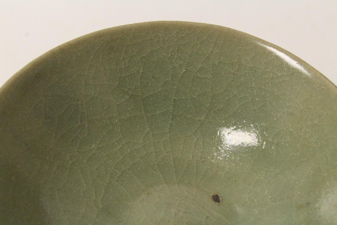 Chinese possible Song celadon bowl - 7