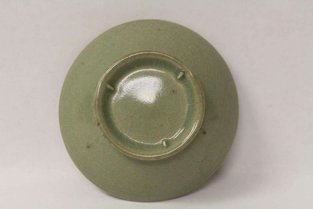 Chinese possible Song celadon bowl - 8