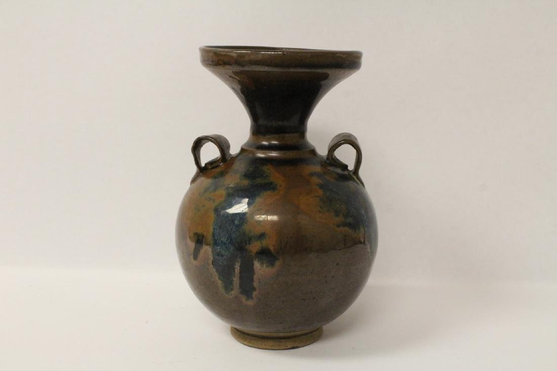 Chinese brown glazed jar - 4