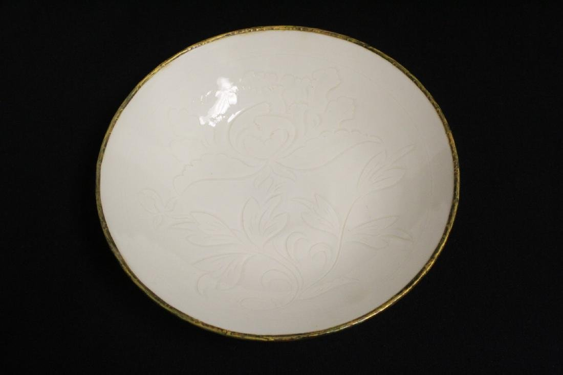 Song style white porcelain bowl