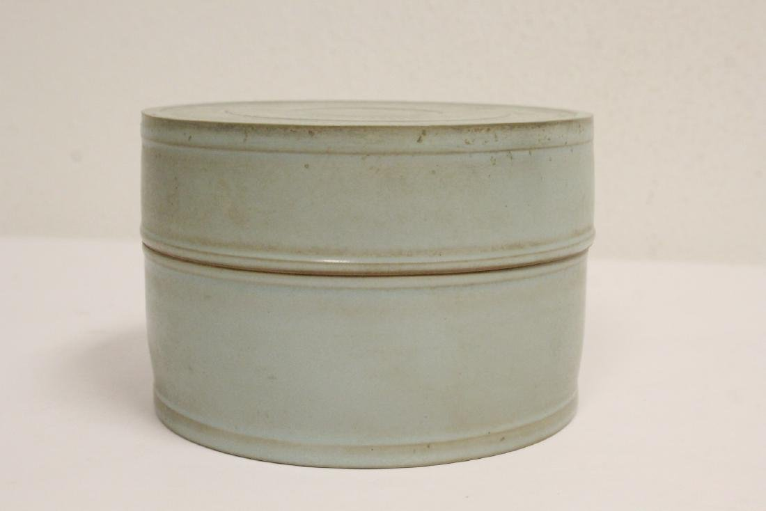 Song style celadon box - 4
