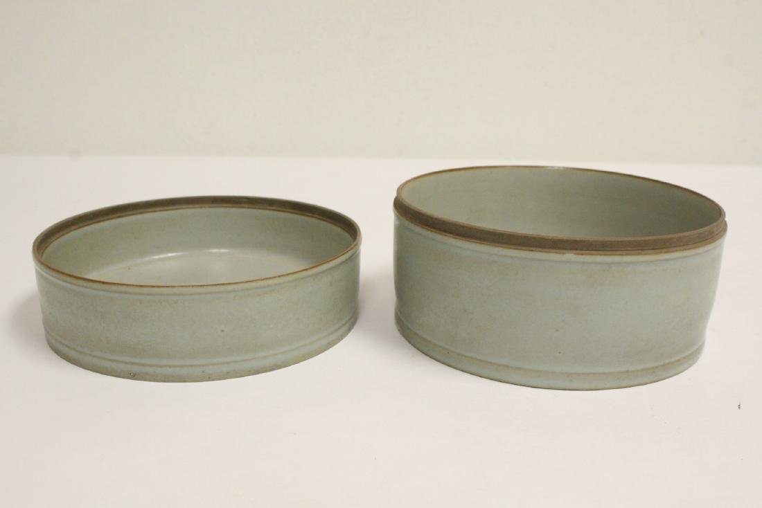 Song style celadon box - 7