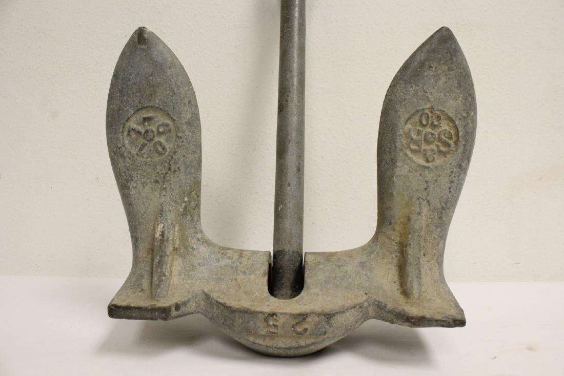 An old ship anchor - 2