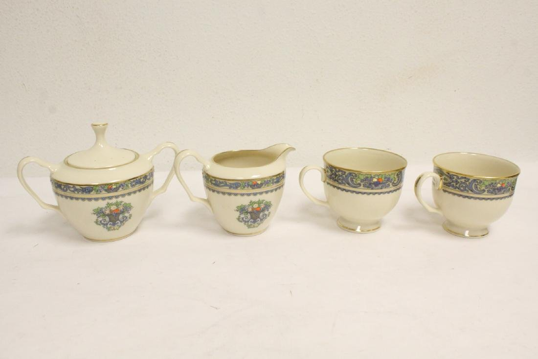 20 pieces partial china set by Lenox - 4