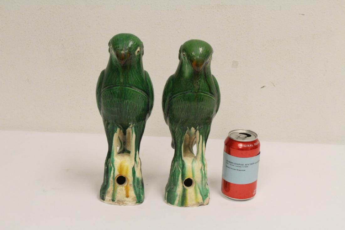 2 sancai style parrots - 2