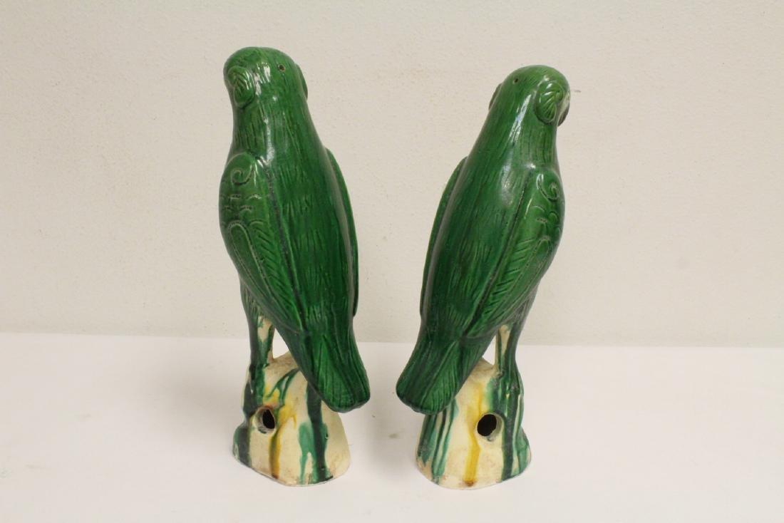 2 sancai style parrots - 6