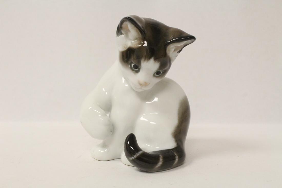 Rosenthal porcelain cat
