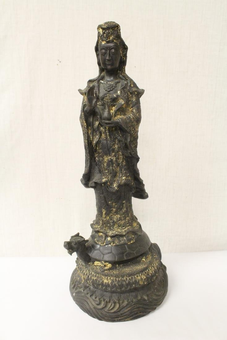 Bronze sculpture of Guanyin