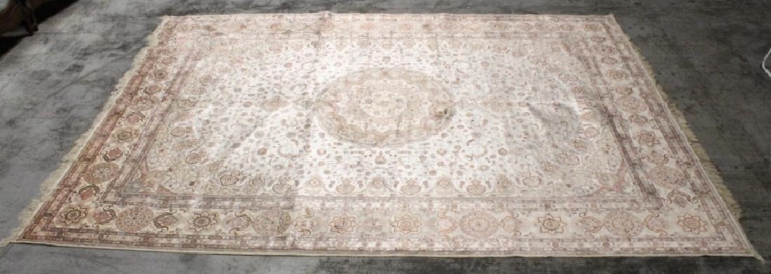 An important palace size Persian silk rug