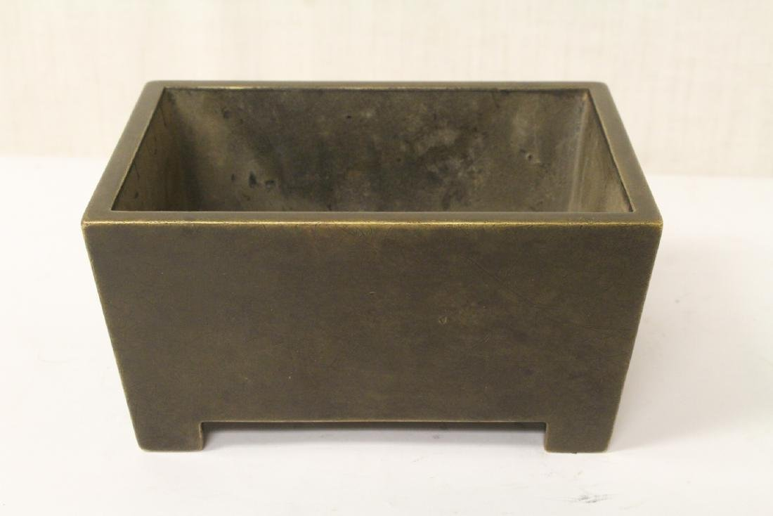 An important Chinese antique bronze censer