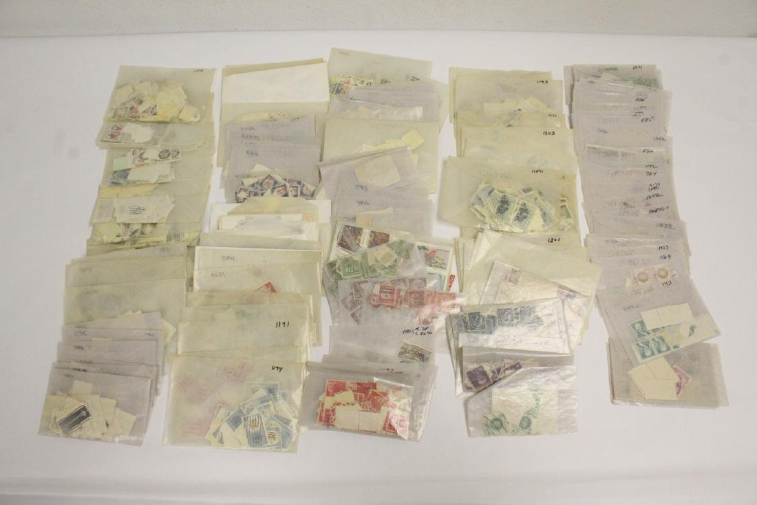 Large collection of loose stamps