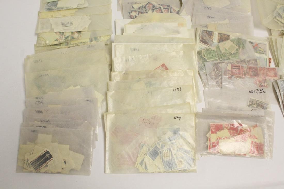 Large collection of loose stamps - 3