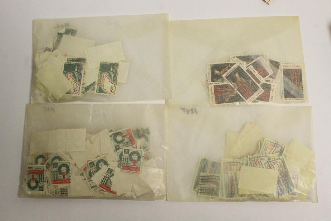 Large collection of loose stamps - 8