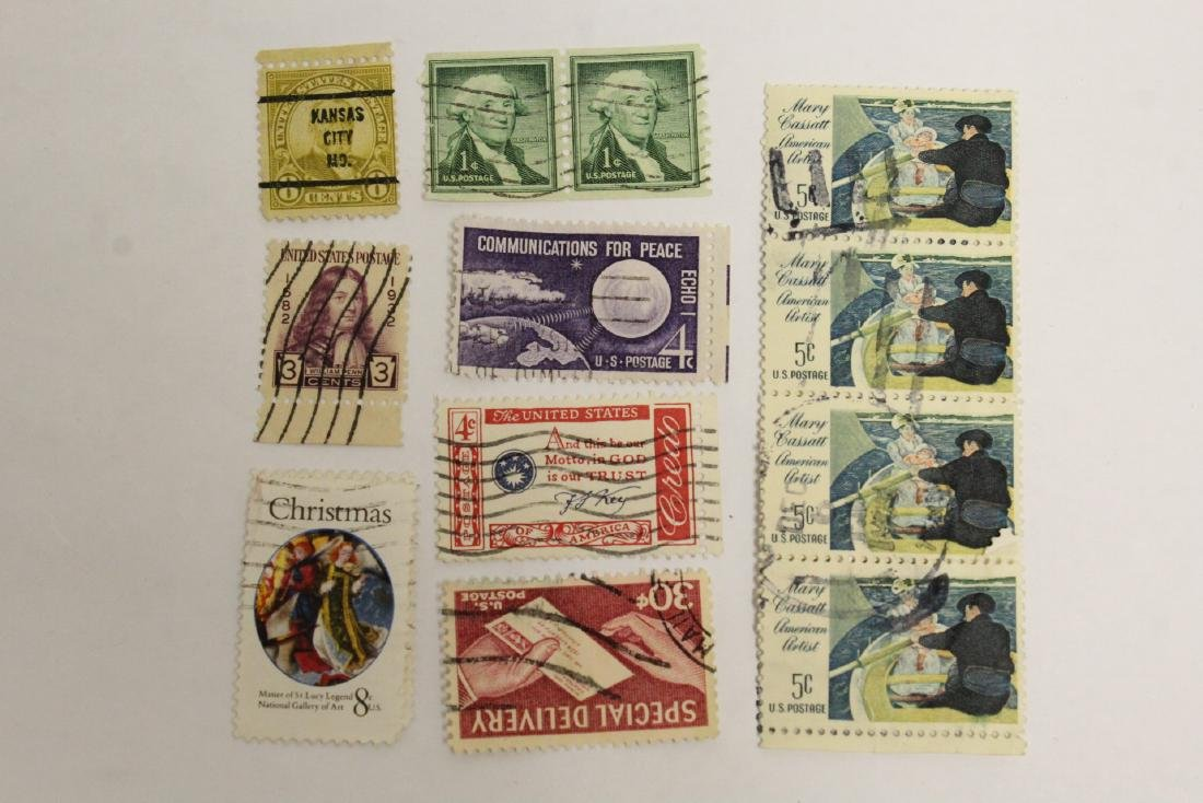 Large collection of loose stamps - 9