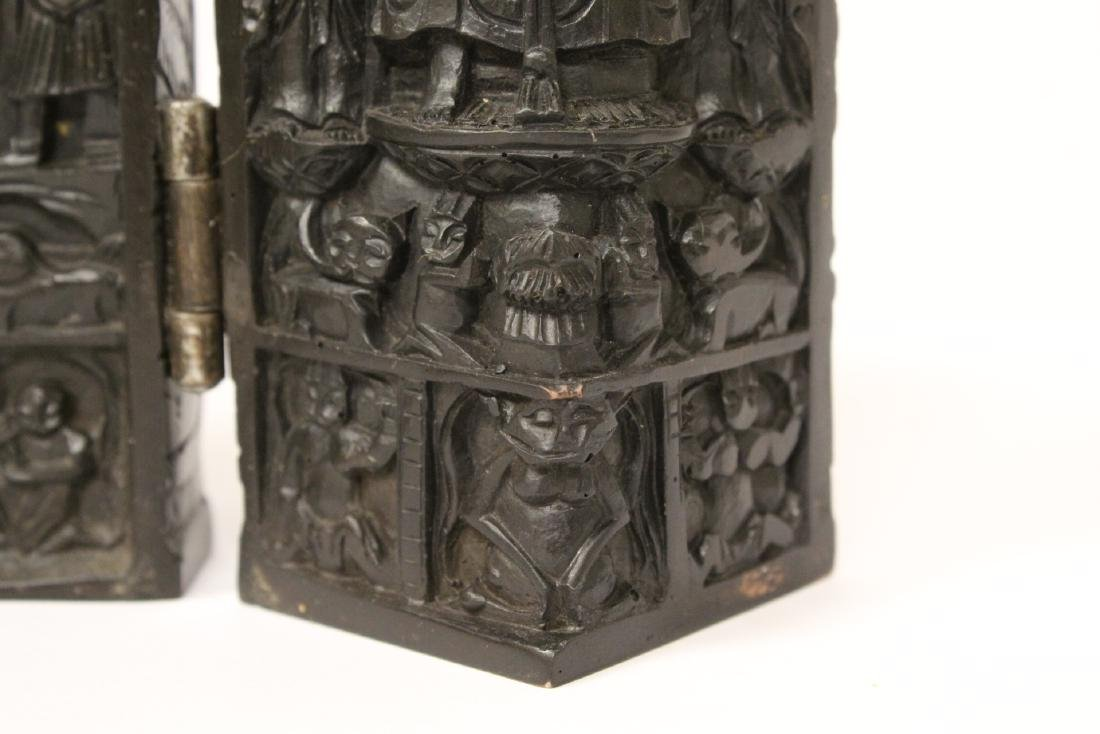 Wood carved shrine - 10