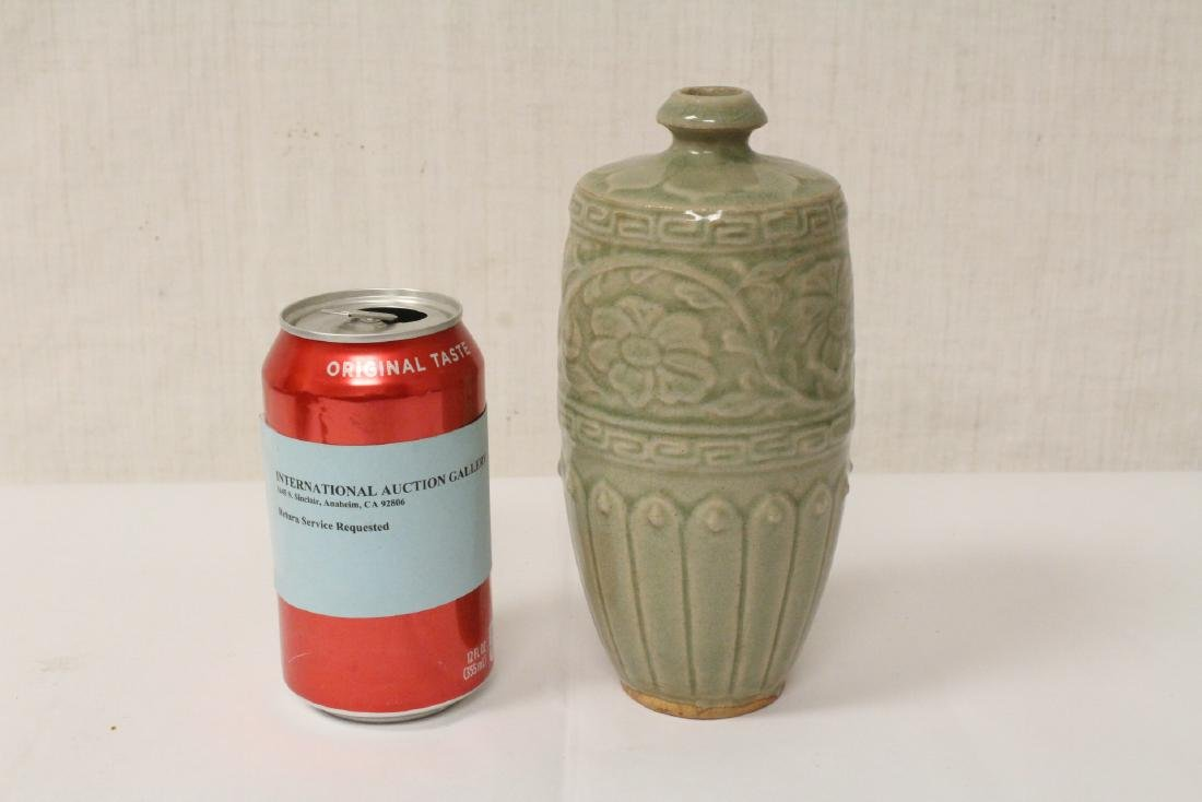Song style celadon vase - 2