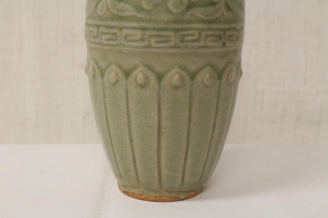 Song style celadon vase - 6