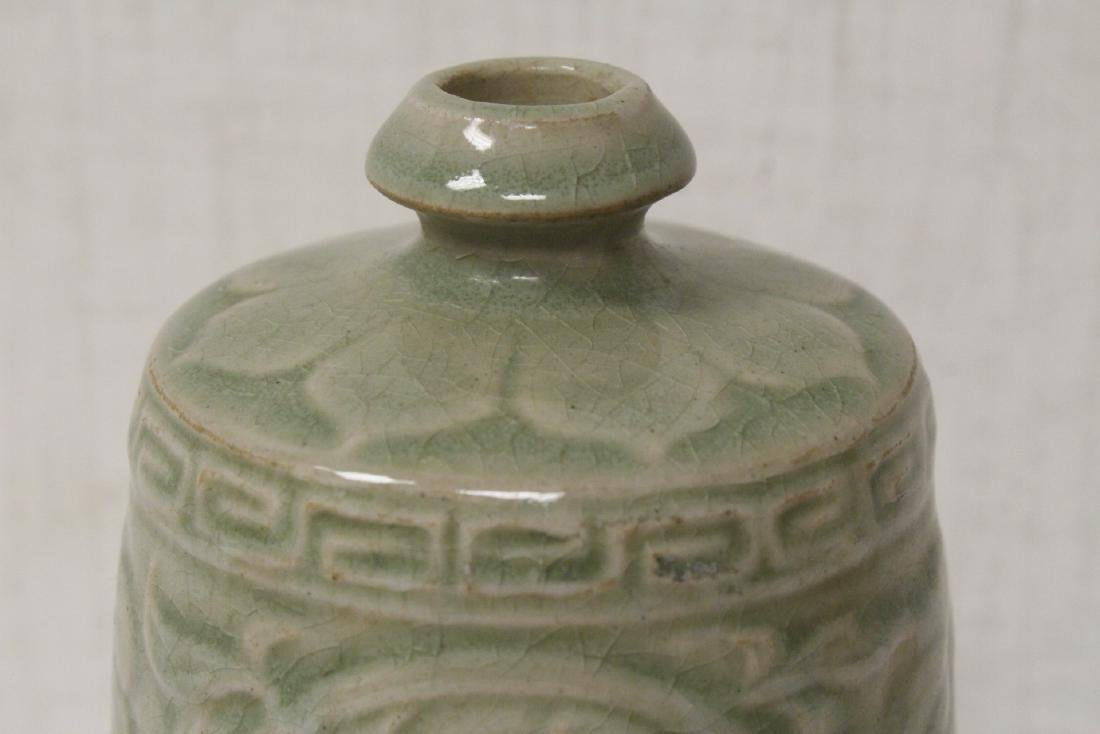 Song style celadon vase - 7
