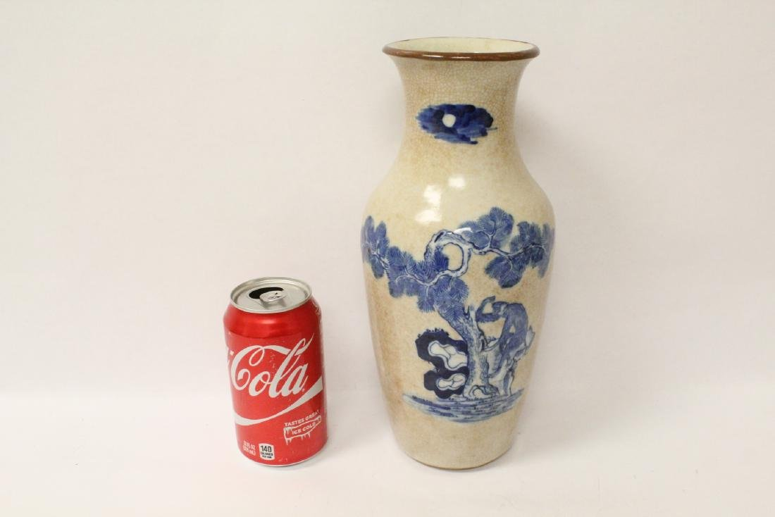 Chinese antique crackle porcelain vase