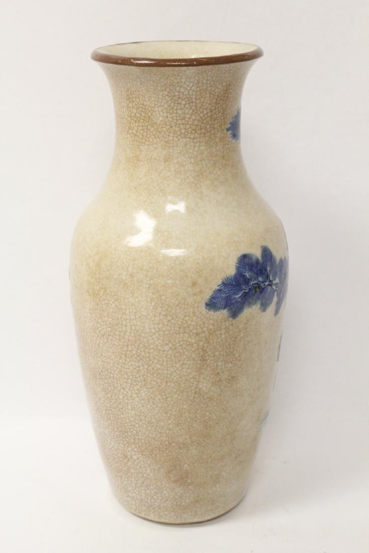 Chinese antique crackle porcelain vase - 6