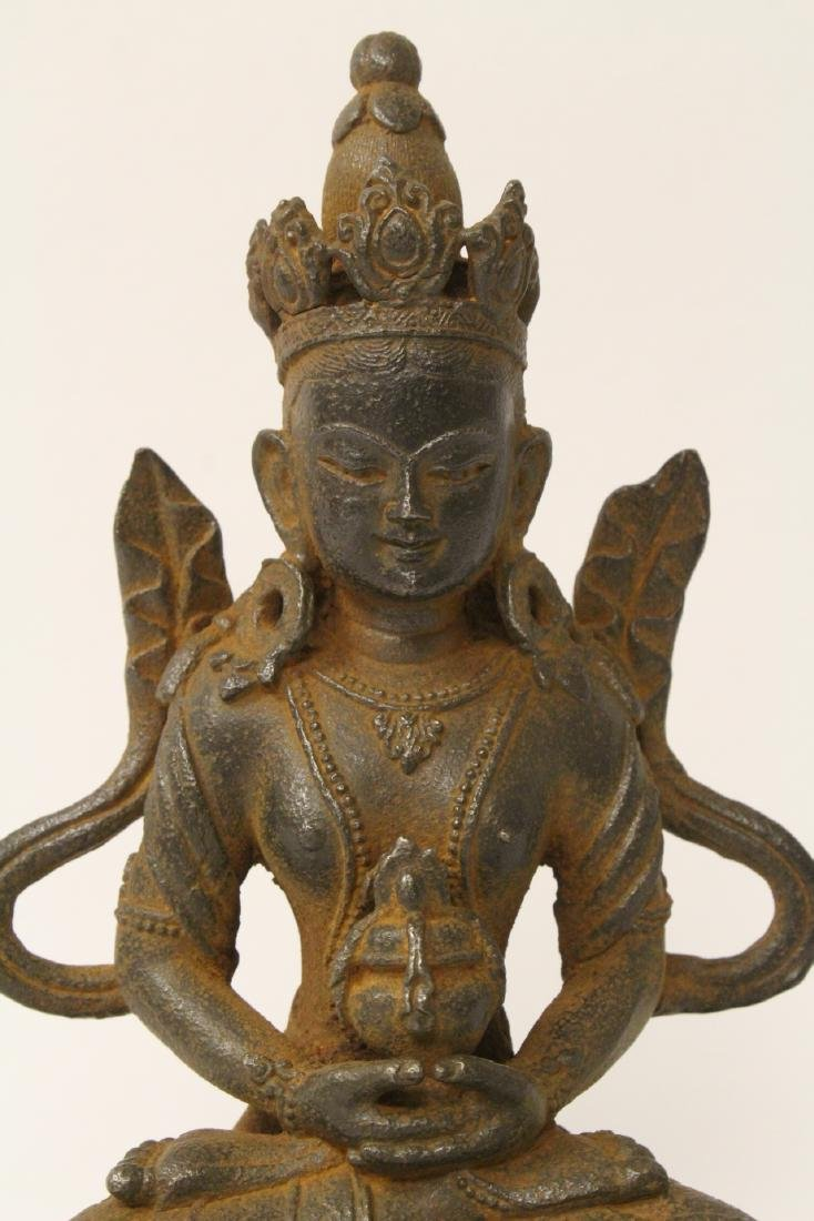 Chinese cast iron sculpture - 5
