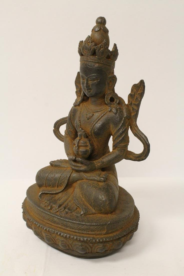 Chinese cast iron sculpture - 6