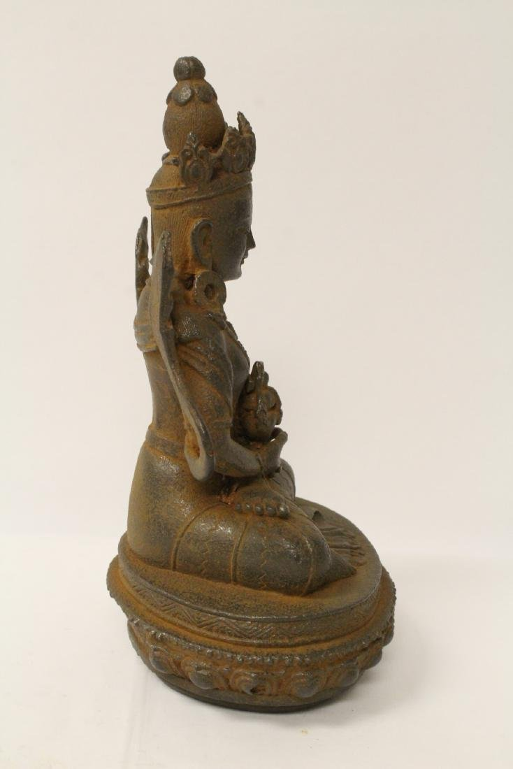 Chinese cast iron sculpture - 8