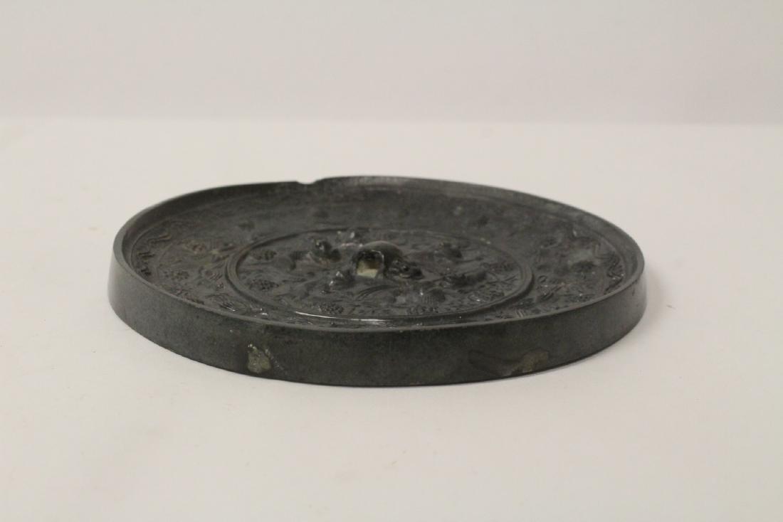 Chinese bronze mirror - 3
