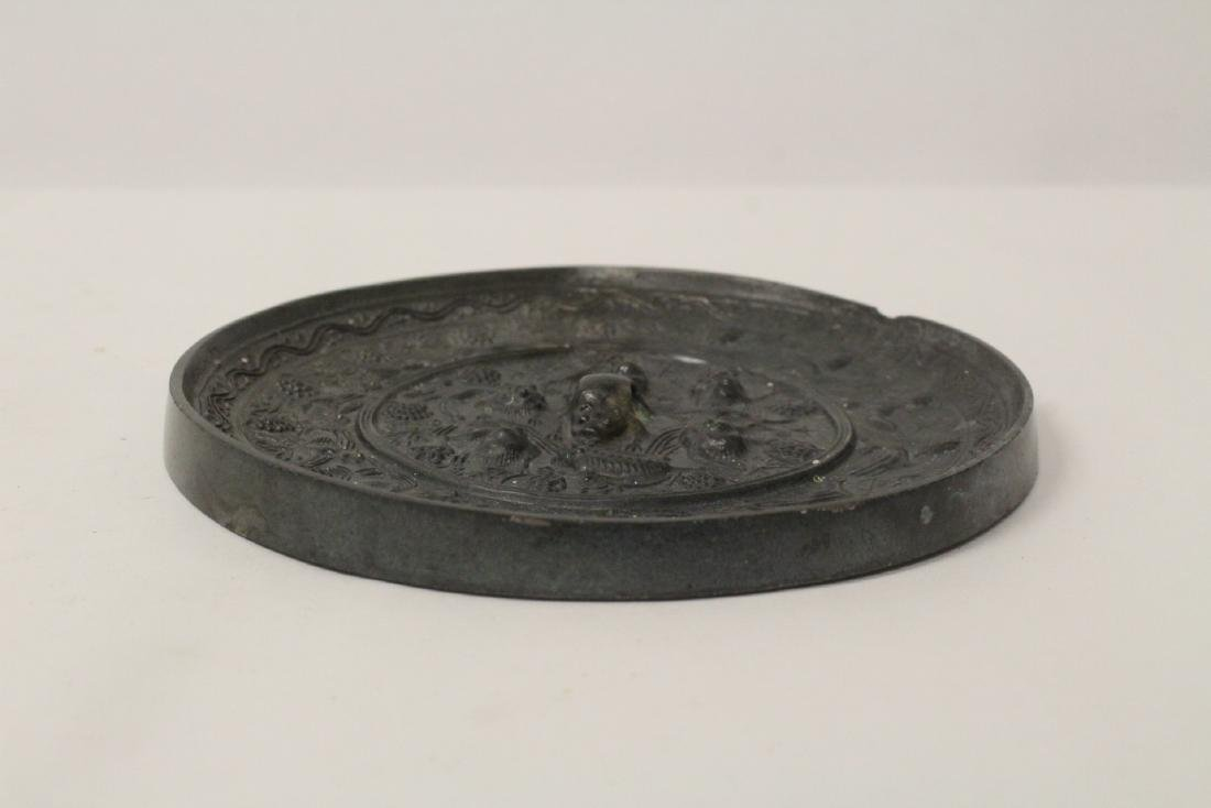 Chinese bronze mirror - 4