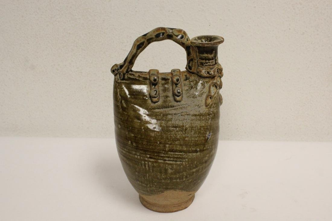 2 Song style handled vases - 6