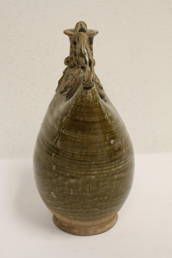 2 Song style handled vases - 9