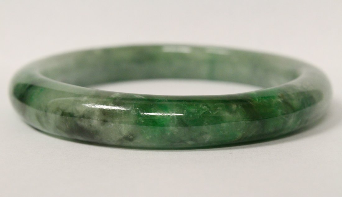 Jadeite bangle bracelet - 10