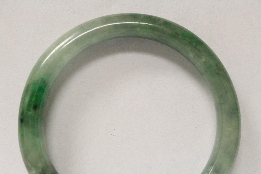 Jadeite bangle bracelet - 2