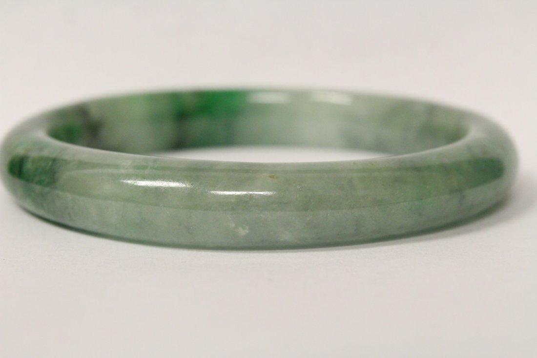 Jadeite bangle bracelet - 9