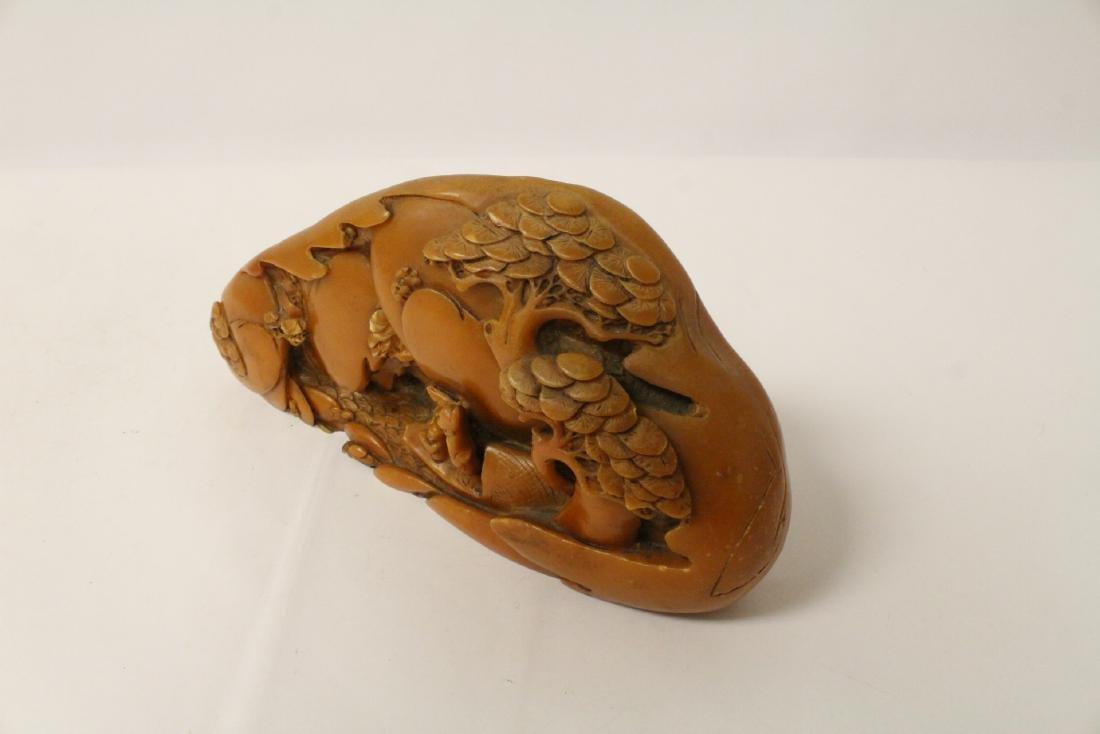Chinese shoushan stone boulder - 10