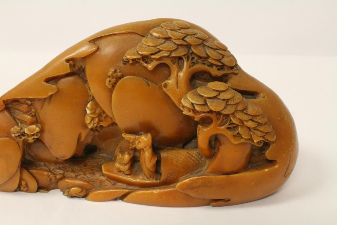 Chinese shoushan stone boulder - 4
