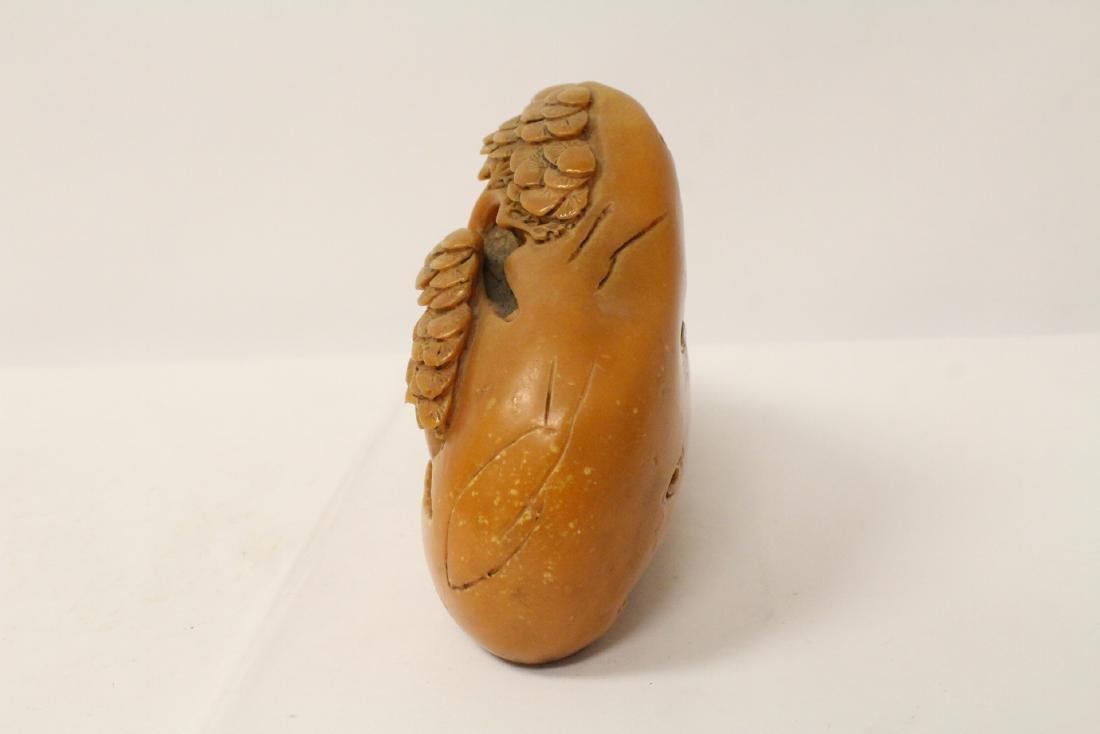Chinese shoushan stone boulder - 7