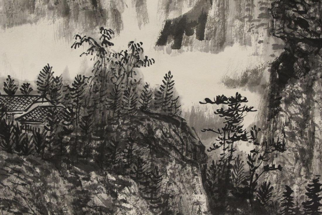 Chinese watercolor scroll - 11