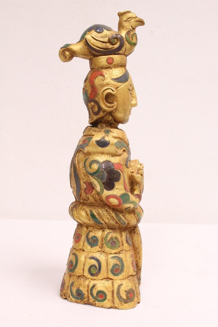 Painted stone figure - 4