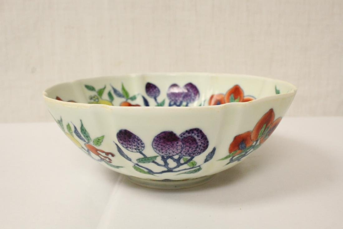 Chinese wucai porcelain bowl - 3