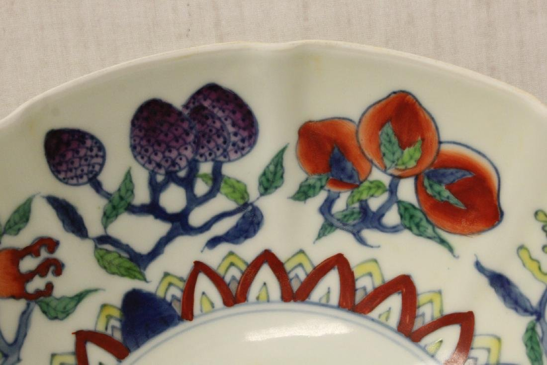 Chinese wucai porcelain bowl - 7