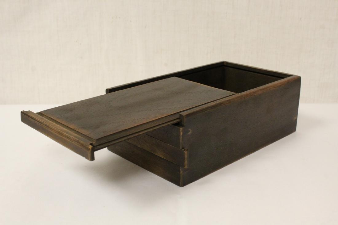 Chinese rosewood box - 3