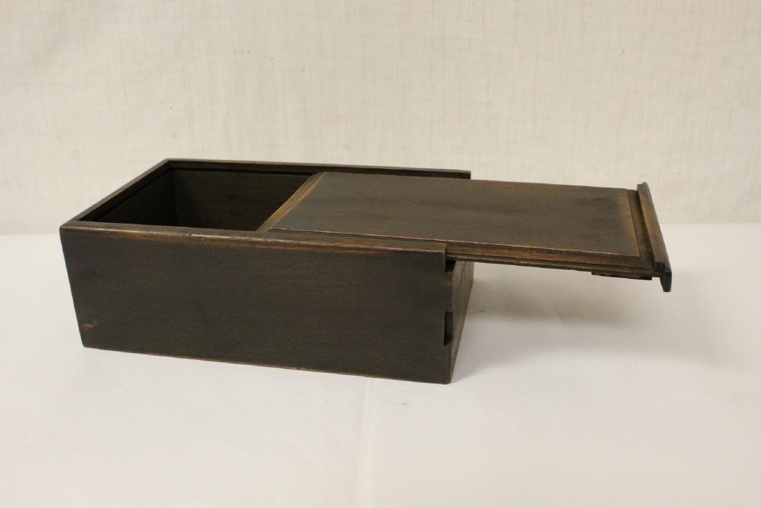 Chinese rosewood box - 4