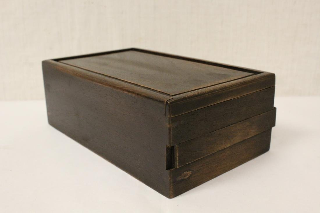 Chinese rosewood box - 5