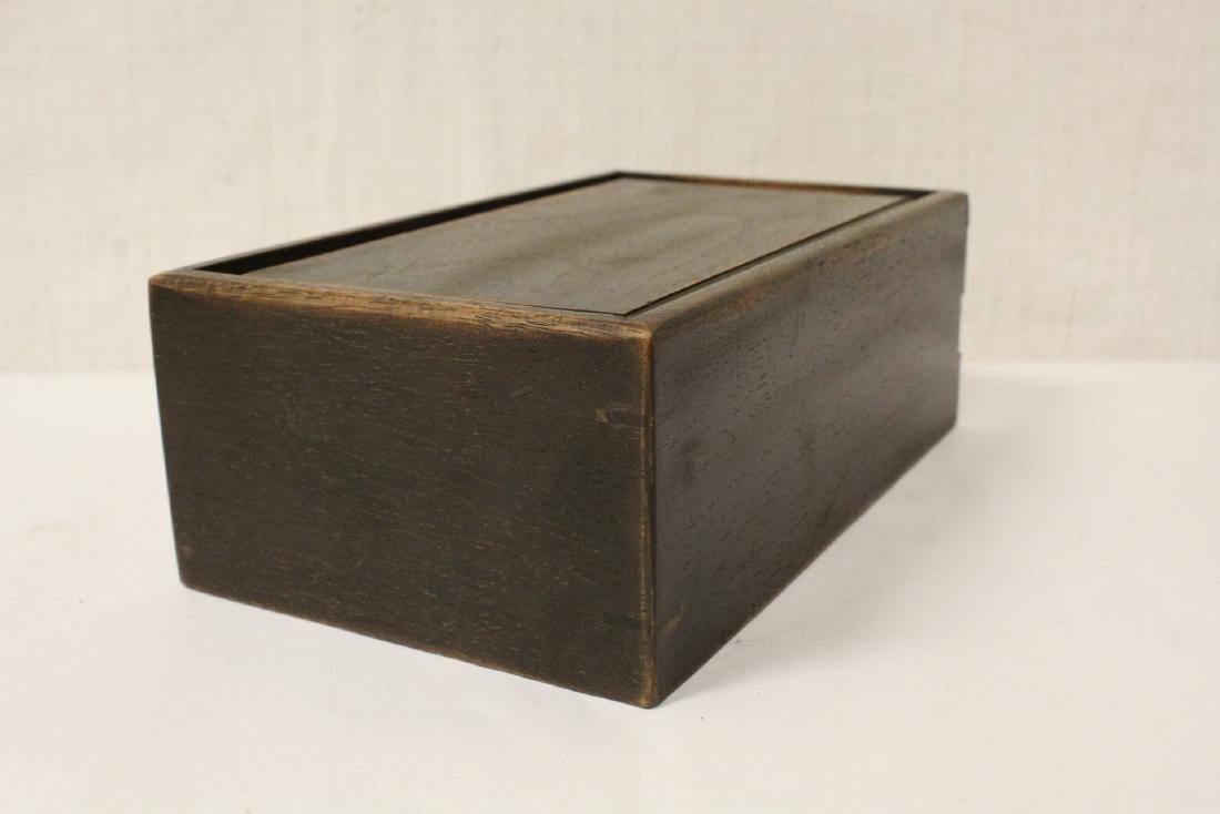 Chinese rosewood box - 6
