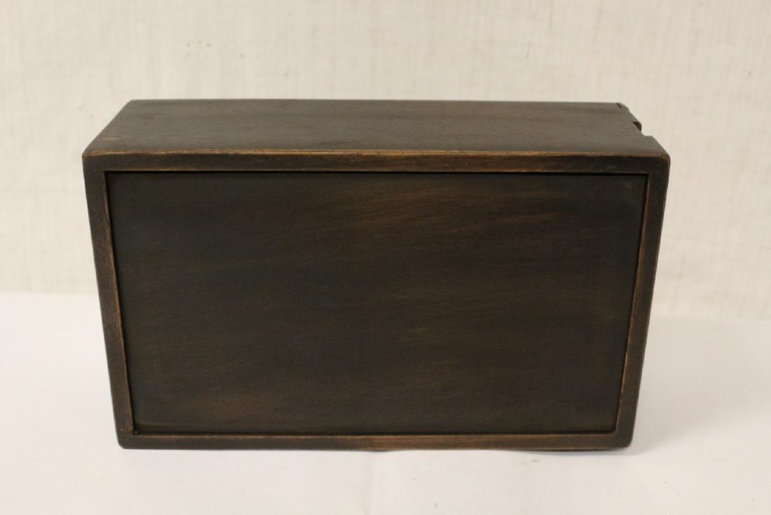 Chinese rosewood box - 9